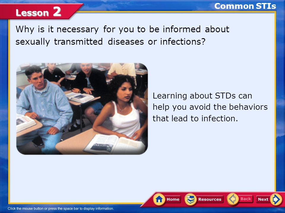 Lesson 2 Other Common STDs