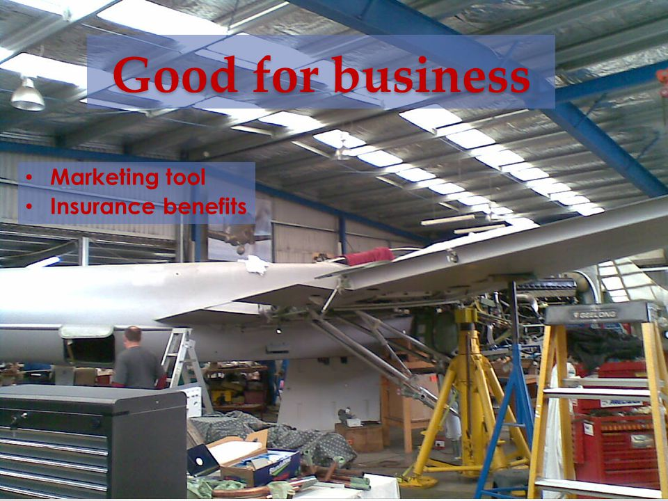 Good for business Marketing tool Insurance benefits