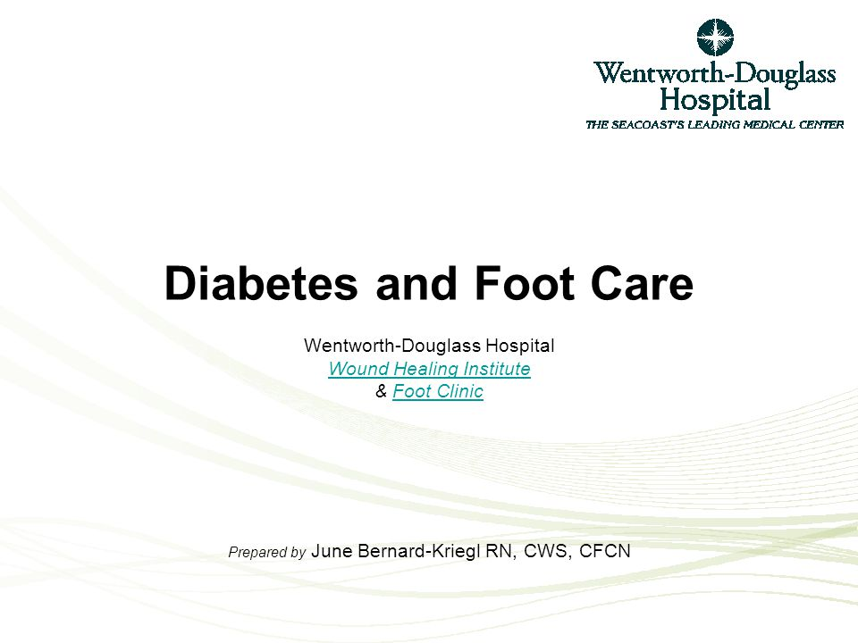 What is a Diabetic Foot Ulcer? An open area that develops on the foot of someone with Diabetes