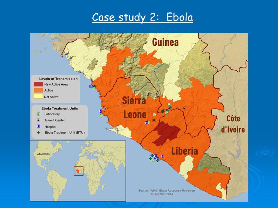 Case study 2: Ebola