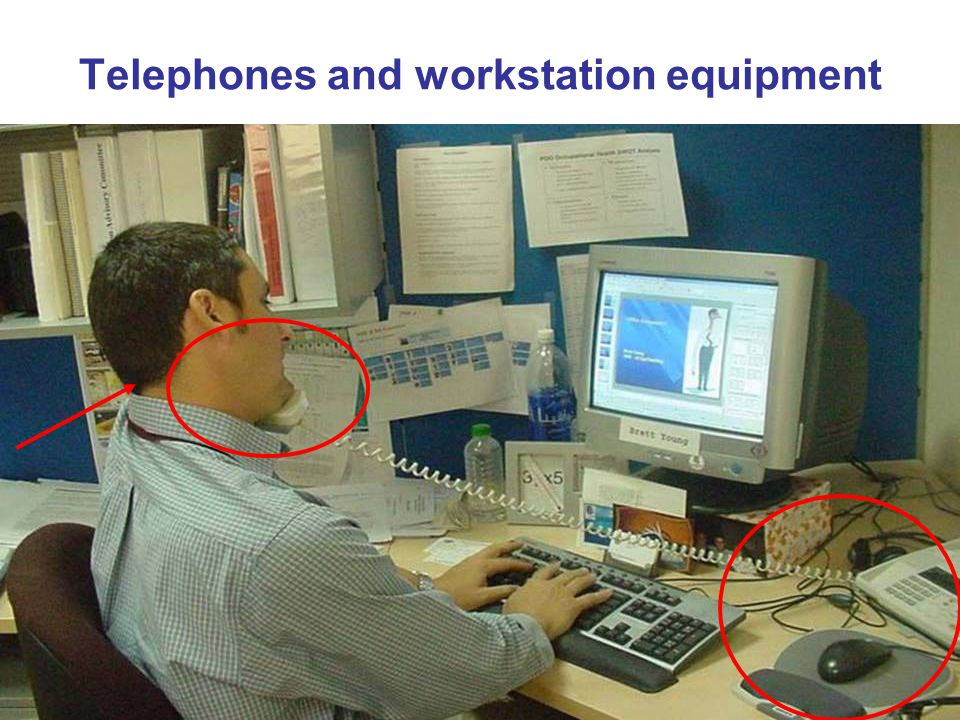 Telephones and workstation equipment