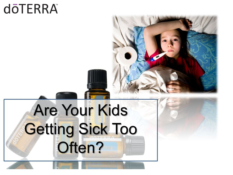 Are Your Kids Getting Sick Too Often