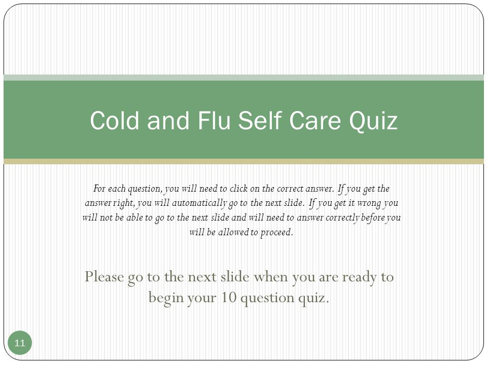 Last Words of Advice Many OTC cold/flu products contain multiple ingredients.