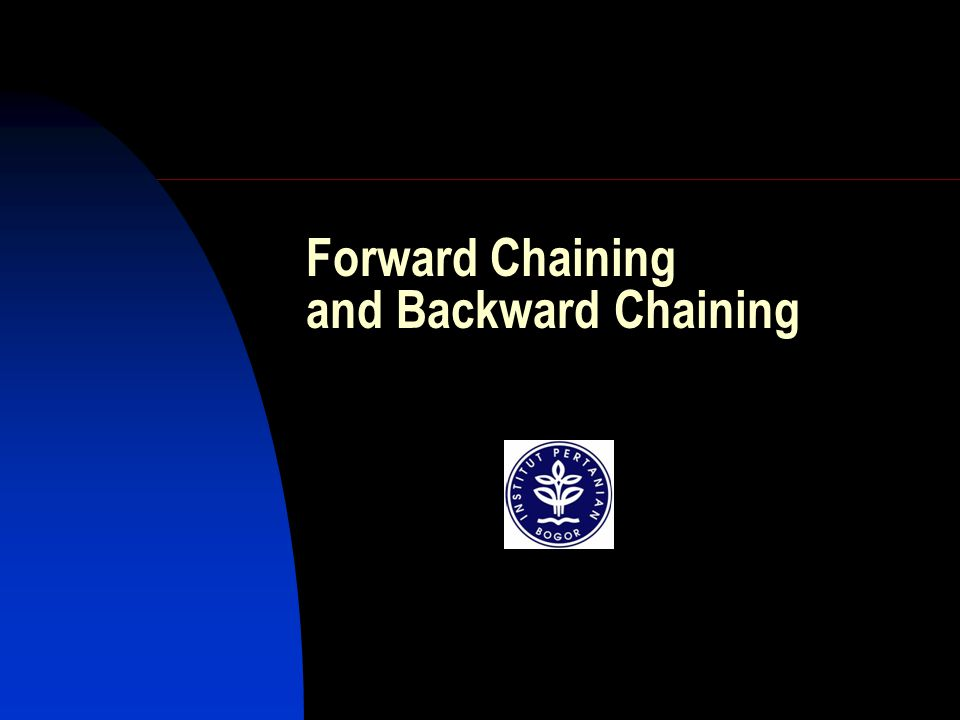 Forward Chaining and Backward Chaining