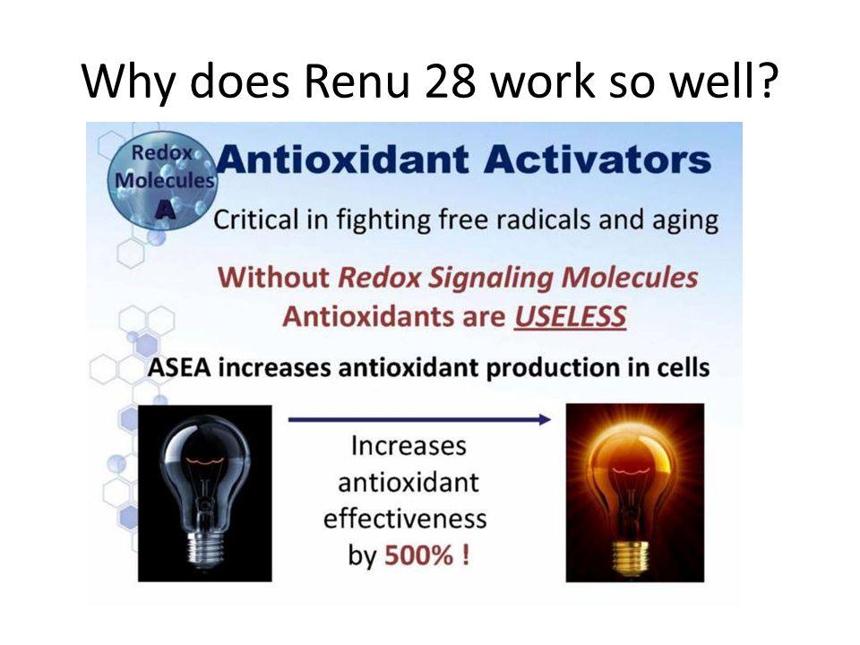 Why does Renu 28 work so well?