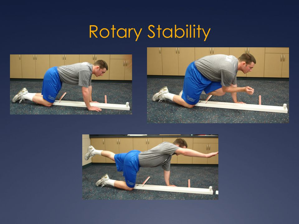 Rotary Stability
