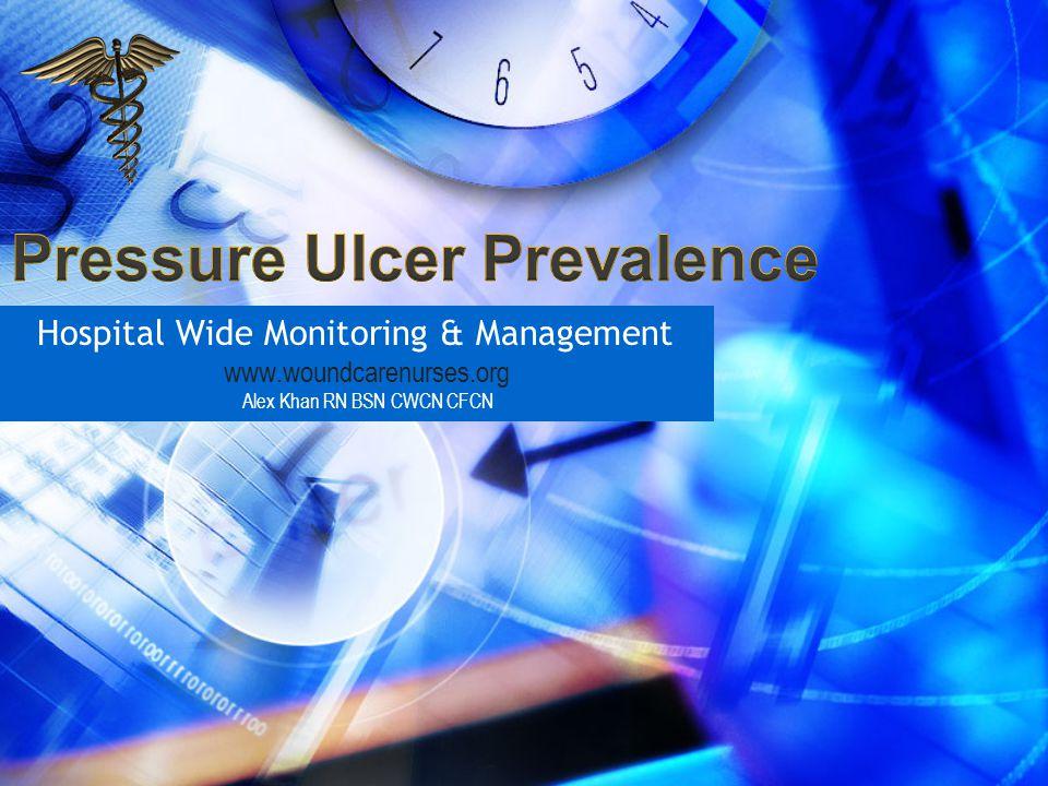 Hospital Wide Monitoring & Management www.woundcarenurses.org Alex Khan RN BSN CWCN CFCN