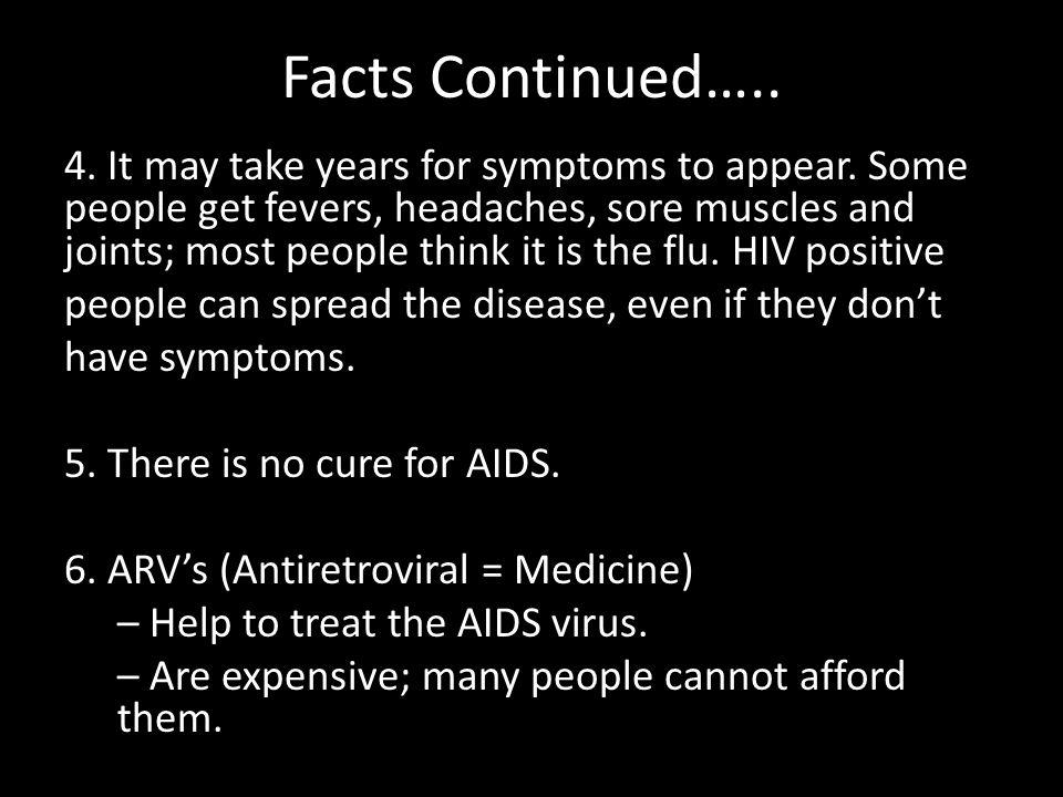 AIDS/HIV in Africa 7.
