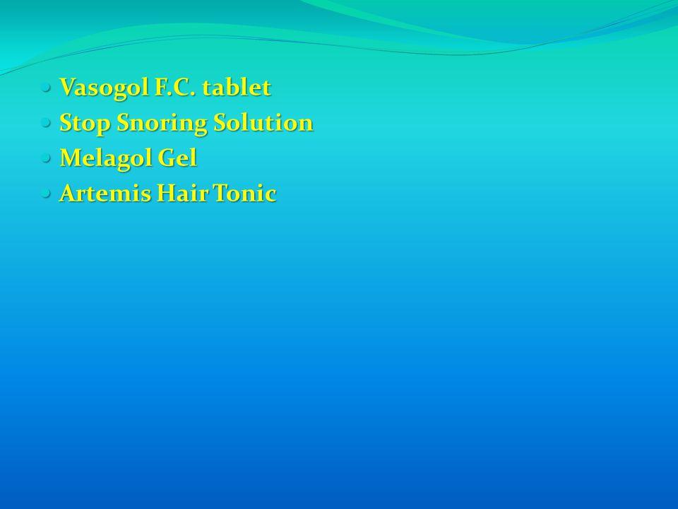 Vasogol F.C. tablet Vasogol F.C.