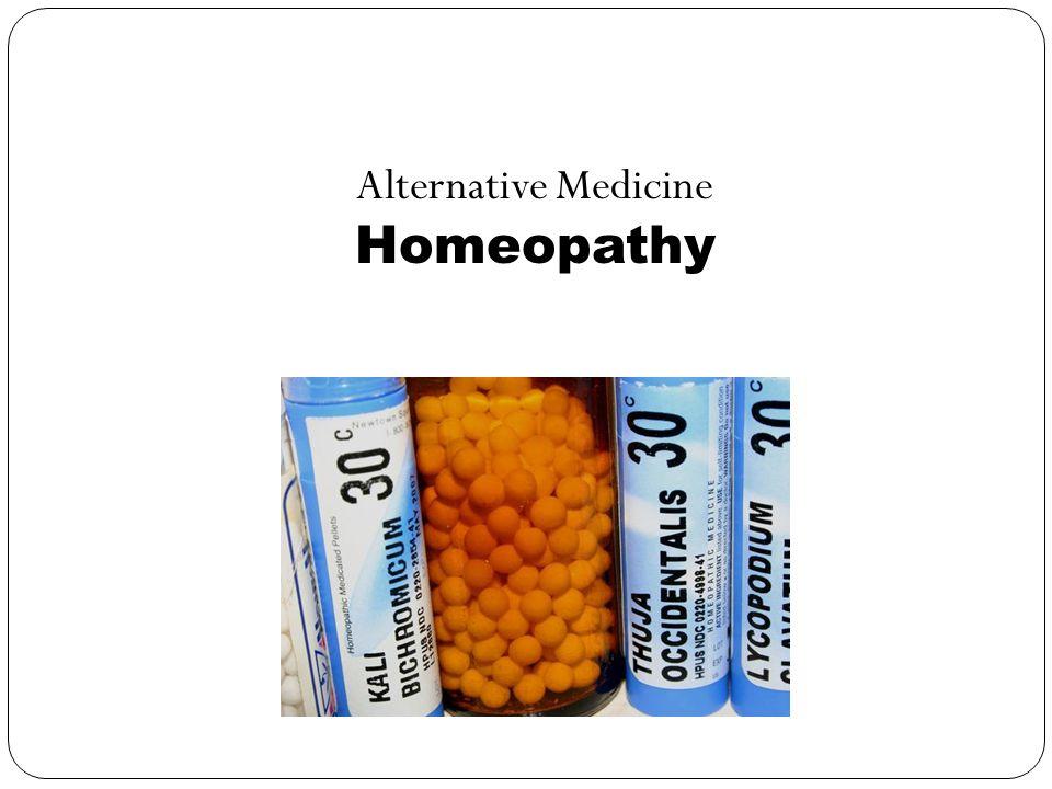 Alternative Medicine Homeopathy