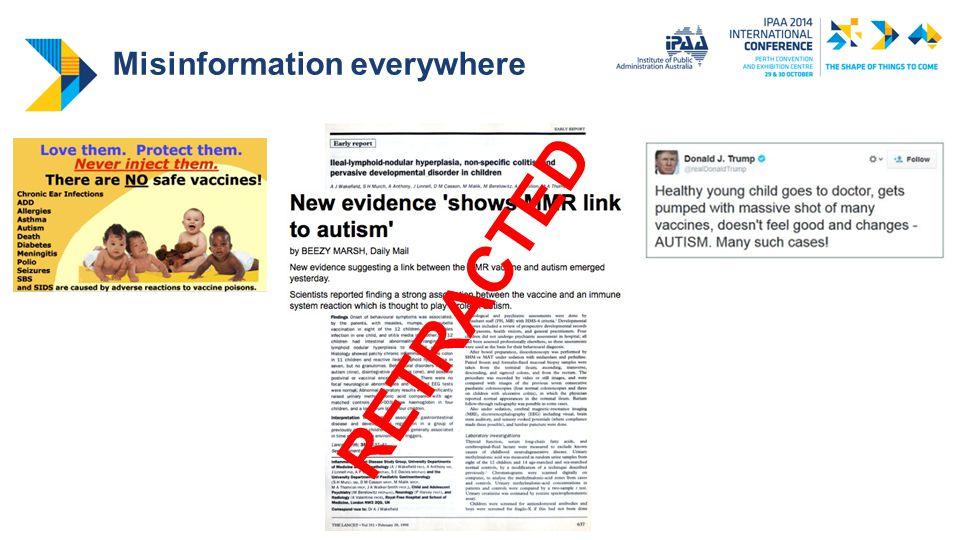 Post-retraction reliance on misinformation Ecker et al., 2011a
