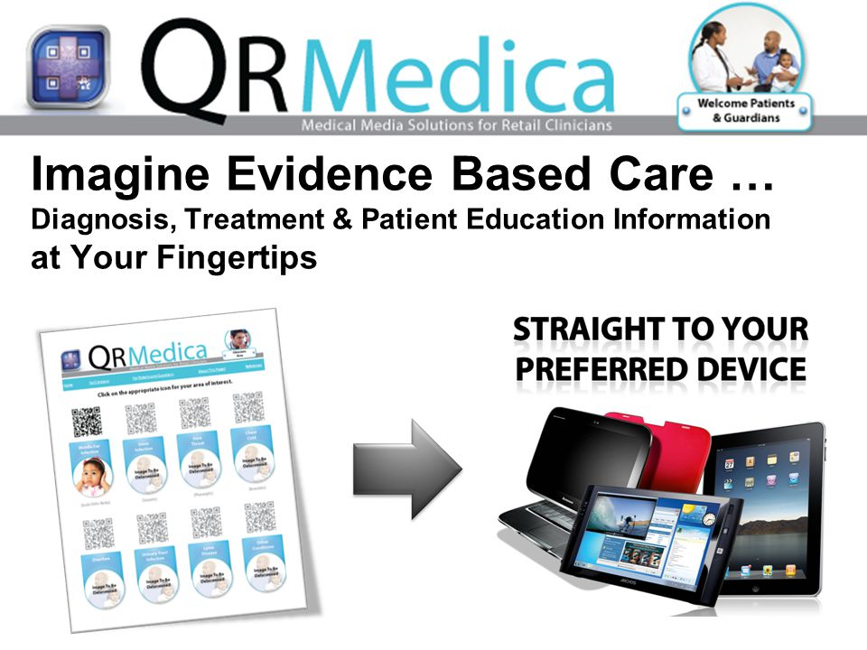Imagine Evidence Based Care … Diagnosis, Treatment & Patient Education Information at Your Fingertips