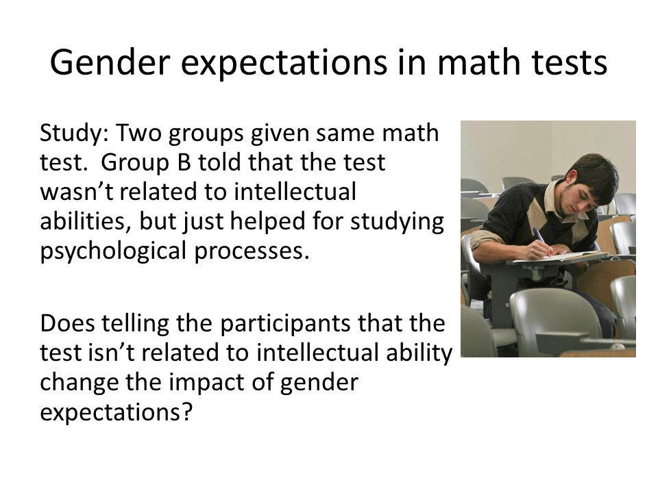 Stereotype expectations and performance M. Shih (Harvard), T.