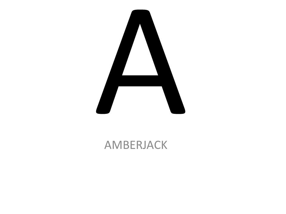 A AMBERJACK