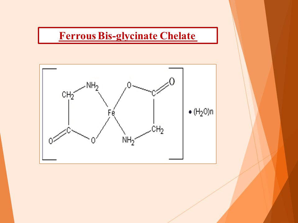 Ferrous Bis-glycinate Chelate