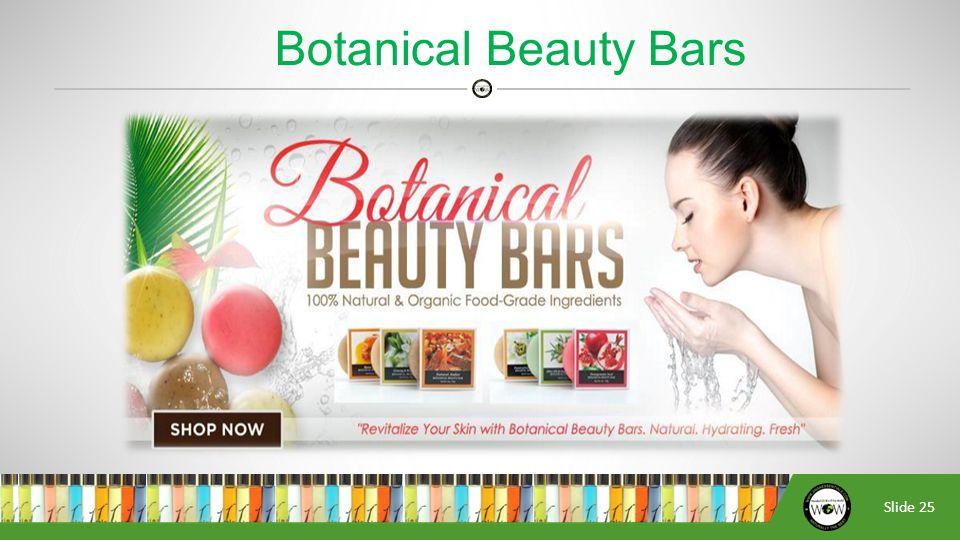 Slide 25 Botanical Beauty Bars