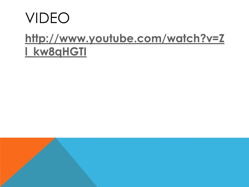 VIDEO http://www.youtube.com/watch?v=Z l_kw8qHGTI