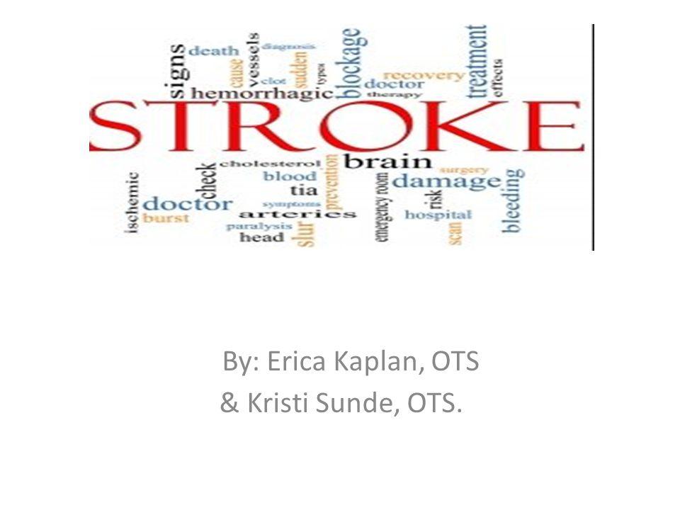 By: Erica Kaplan, OTS & Kristi Sunde, OTS.
