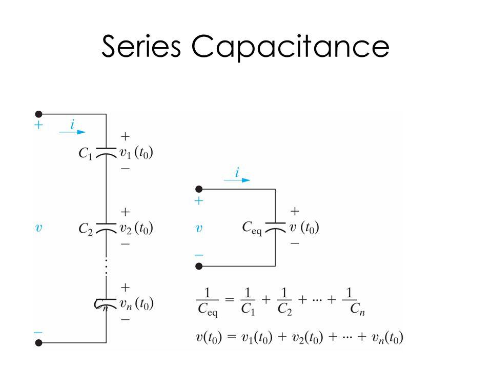 Series Capacitance