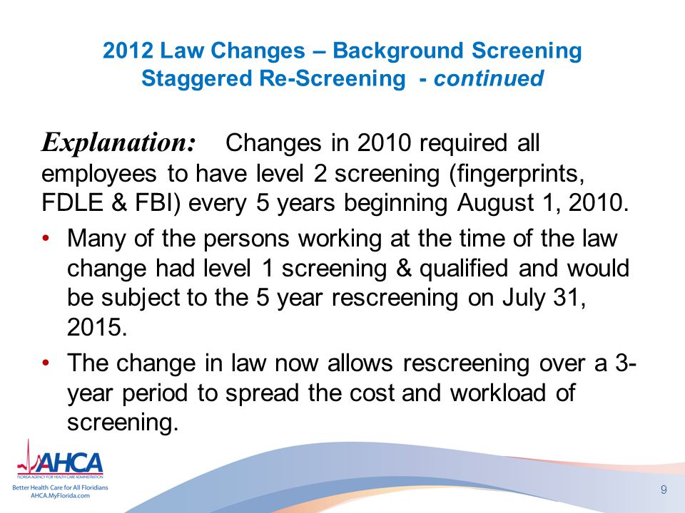 2012 Law Changes Chapter 408, Part II, Fla Statutes Unclassified Violations Fine 408.813(3) continued: b.