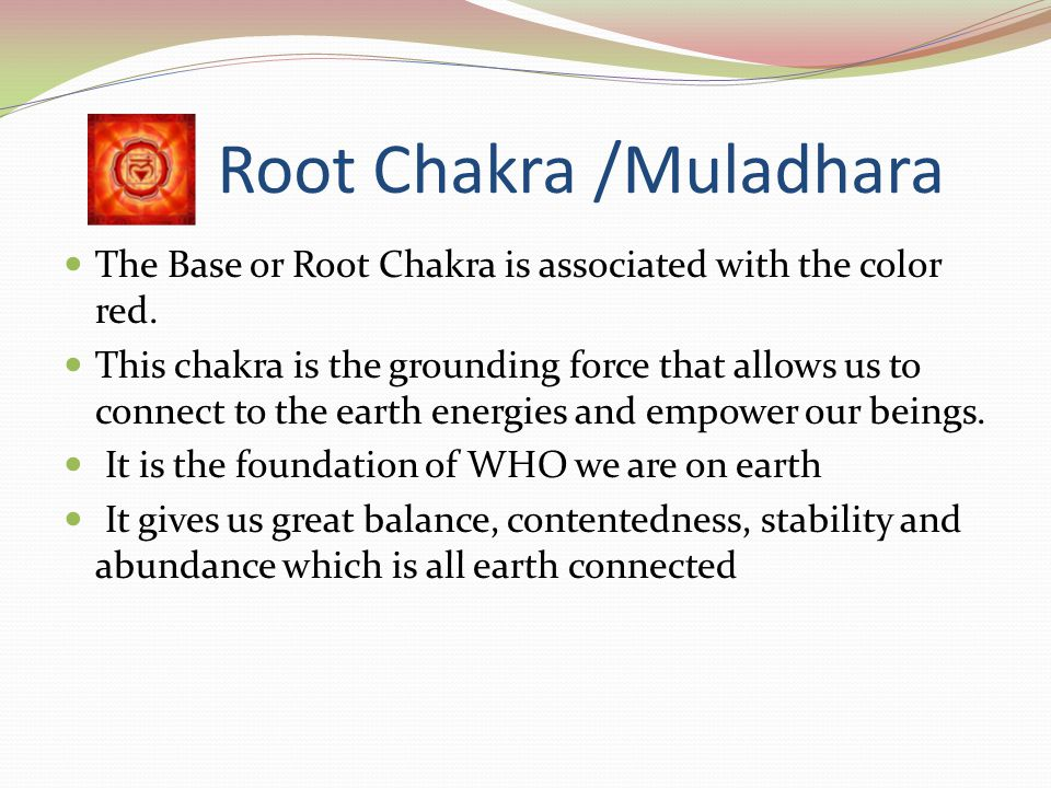Introduction In the next seven features we will be focusing on each individual chakra. We will talk about the Colors associated with each chakra, Lear