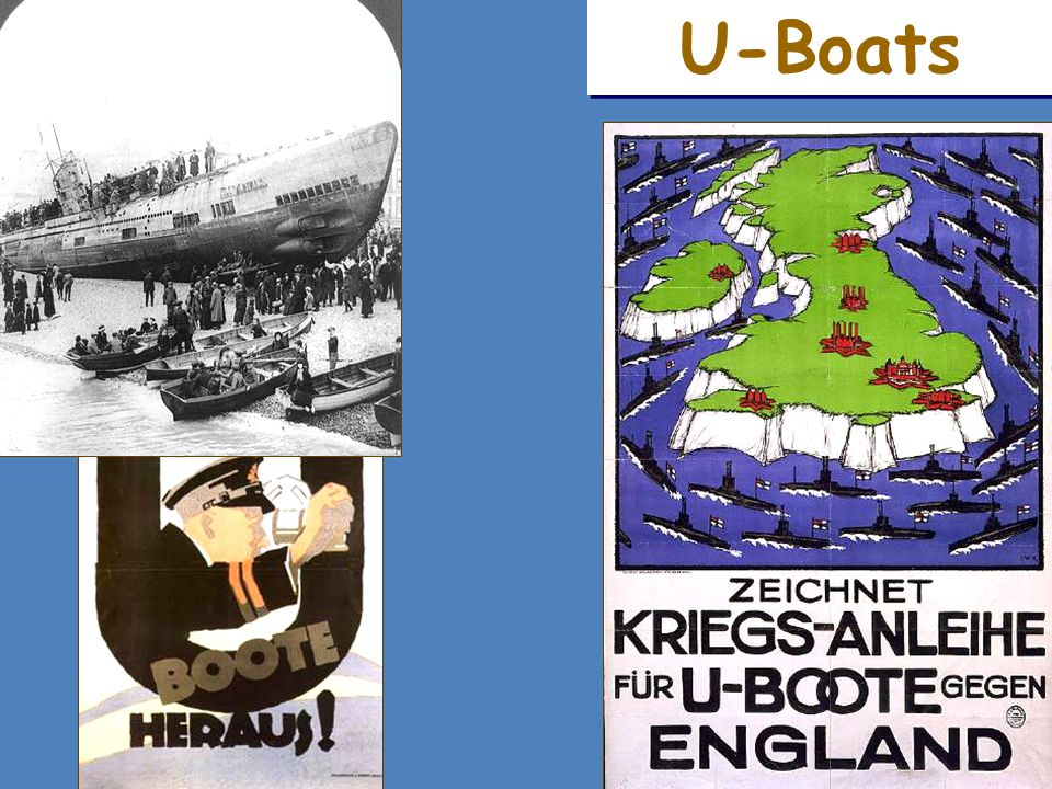 U-boats Submarines
