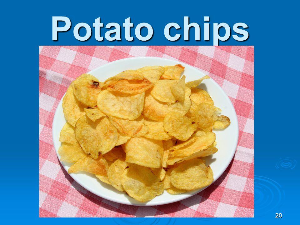 Potato chips 20