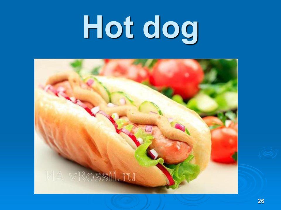 Hot dog 26