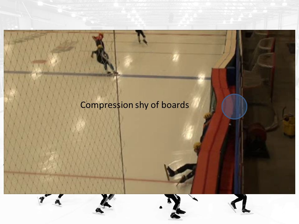 Compression shy of boards