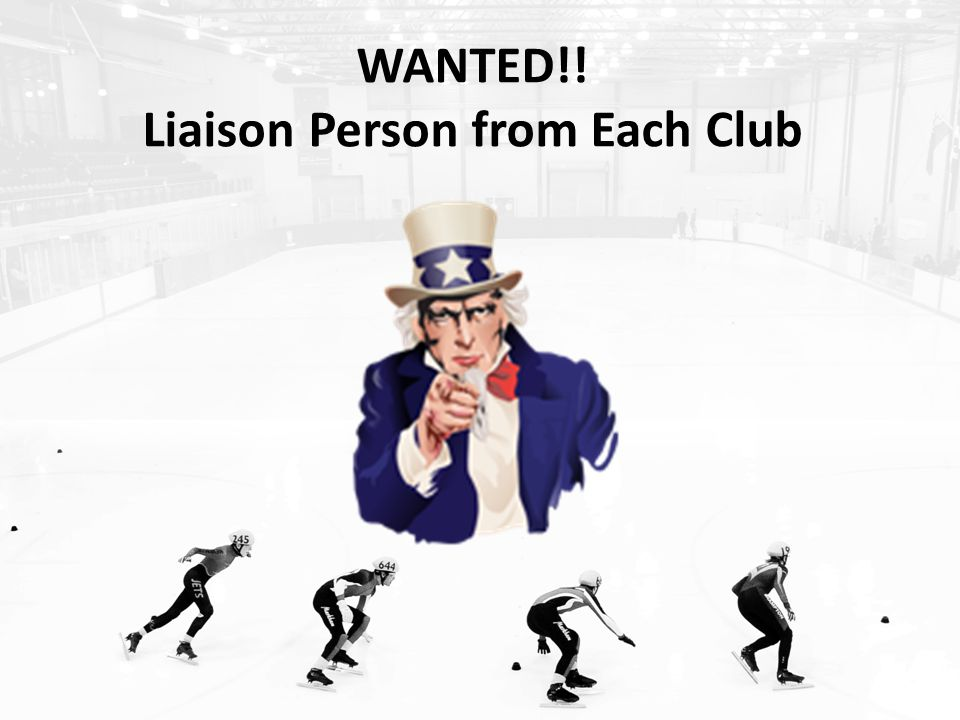 WANTED!! Liaison Person from Each Club