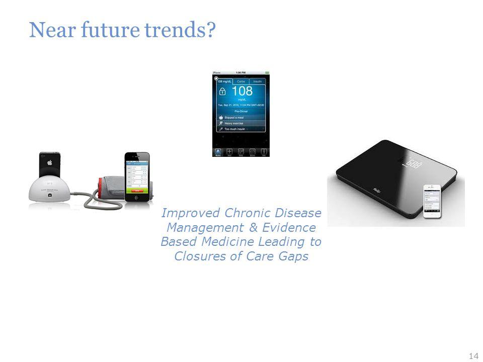 Near future trends.