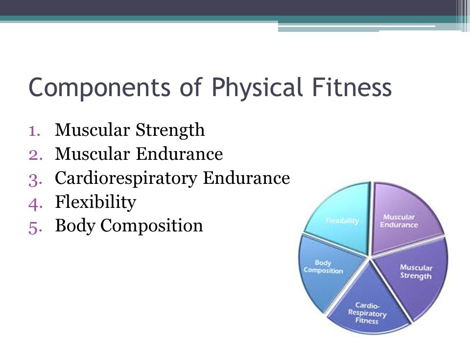 Muscular Strength The amount of force muscle apply when they are used.
