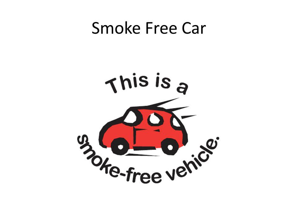 Smoke Free Car