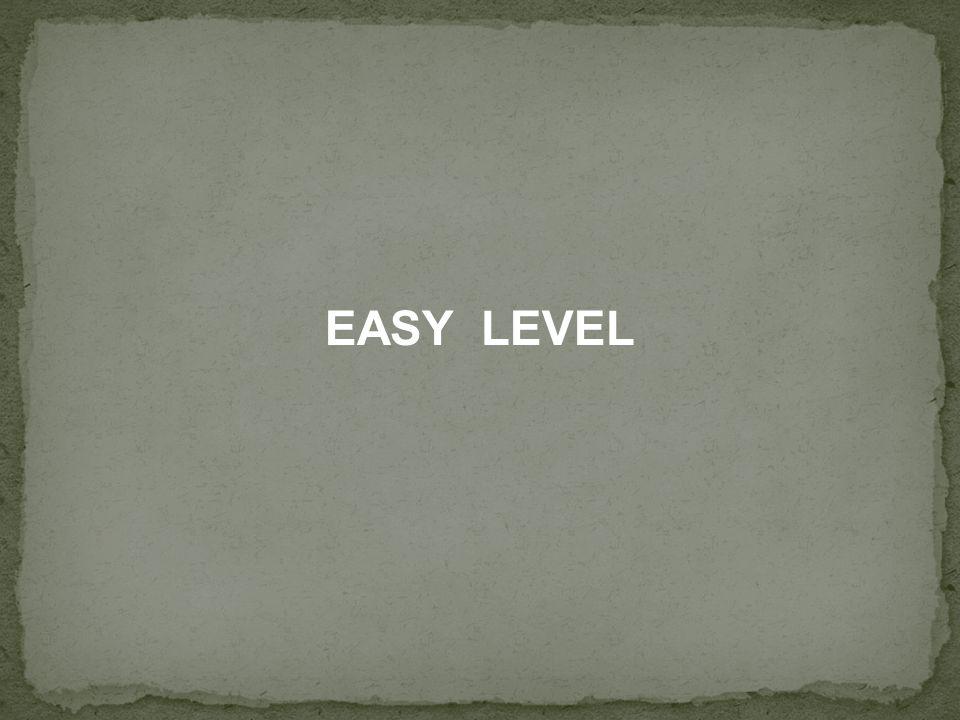 EASY LEVEL