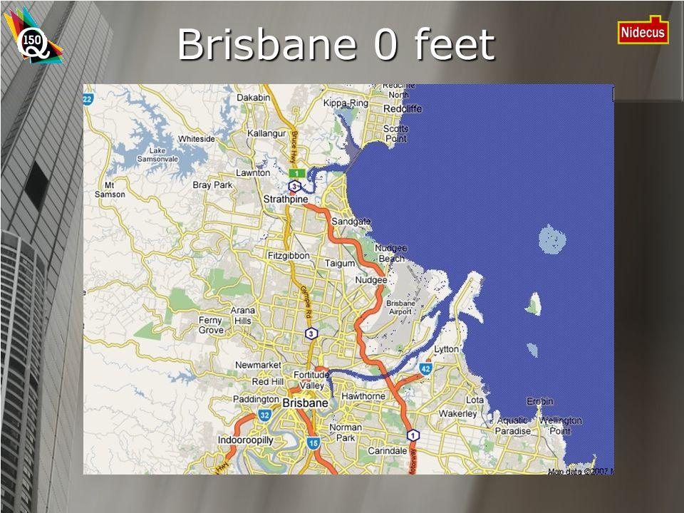 Brisbane 0 feet