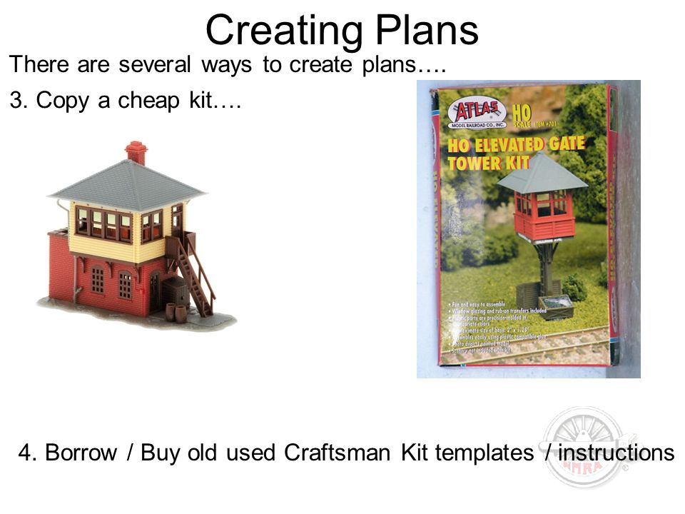 Creating Plans There are several ways to create plans….