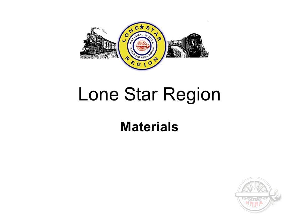 Lone Star Region Materials