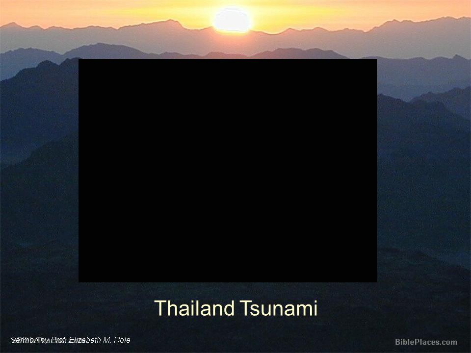 Thailand Tsunami