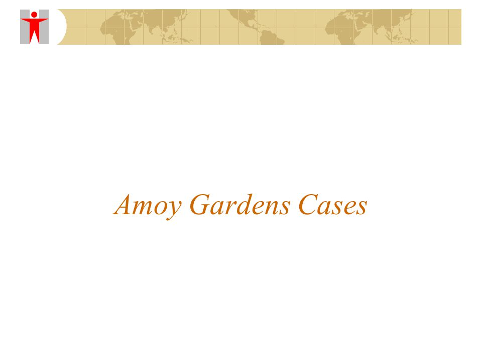 Amoy Gardens Cases