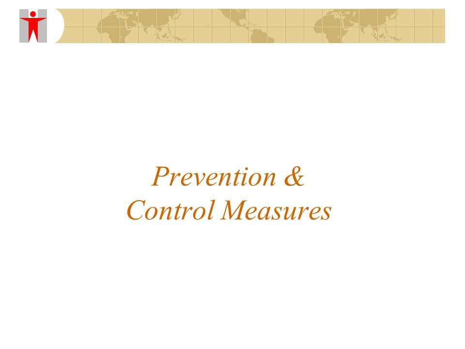 Prevention & Control Measures