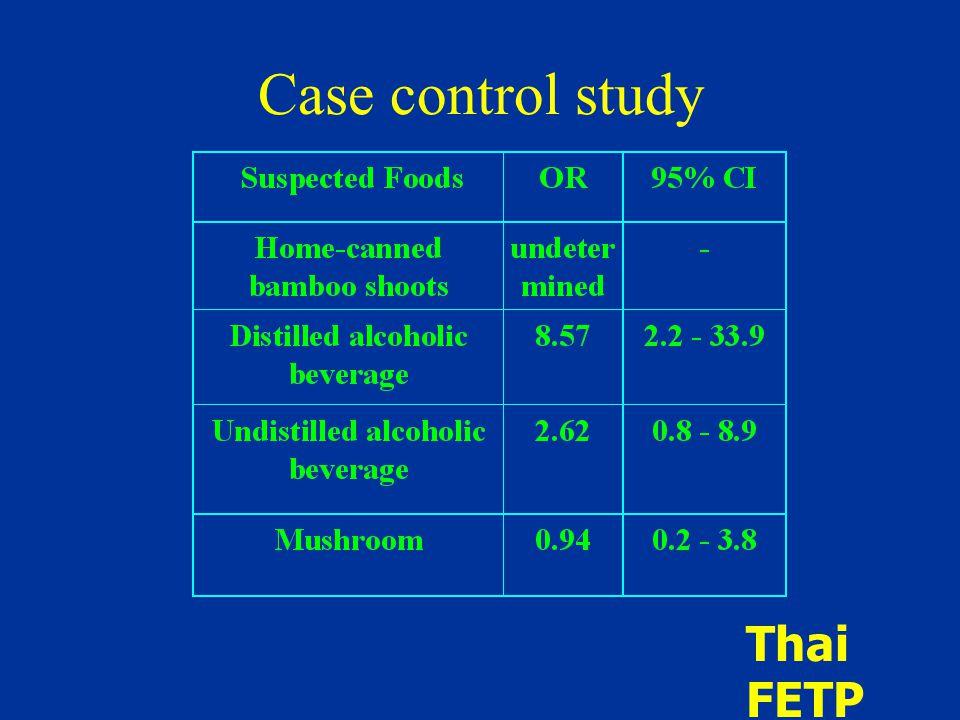 Case control study Thai FETP