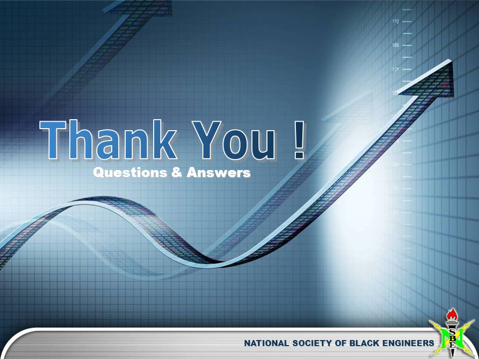 NATIONAL SOCIETY OF BLACK ENGINEERS Questions & Answers