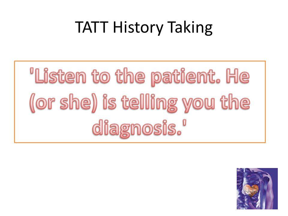 TATT History Taking