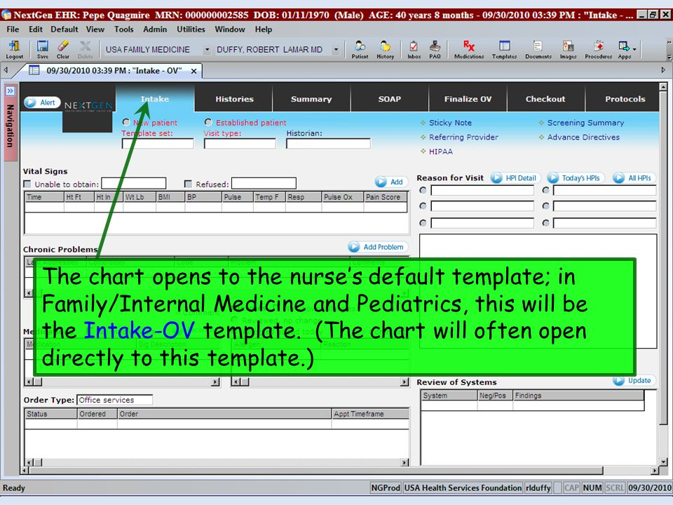 The Chronic Conditions-HPI template is a very useful concept—it allows you to document HPI-type history items for chronic medical problems, rather than use an HPI popup that sounds like you just acutely diagnosed the problem.
