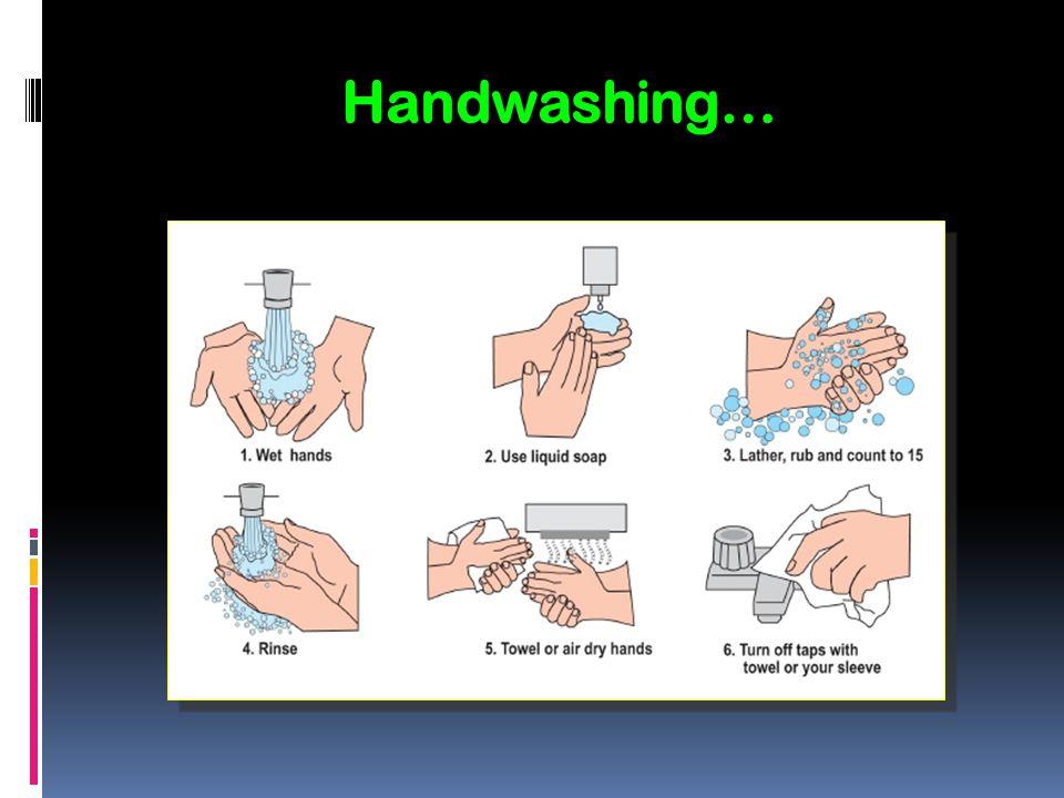 Handwashing…