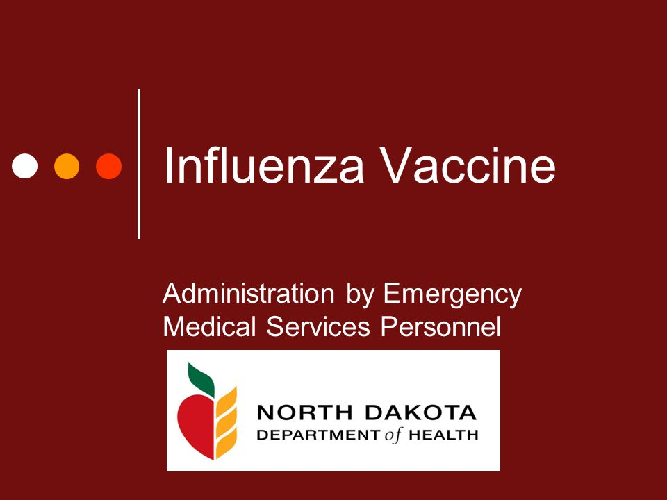 Influenza Vaccine Administration by Emergency Medical Services Personnel