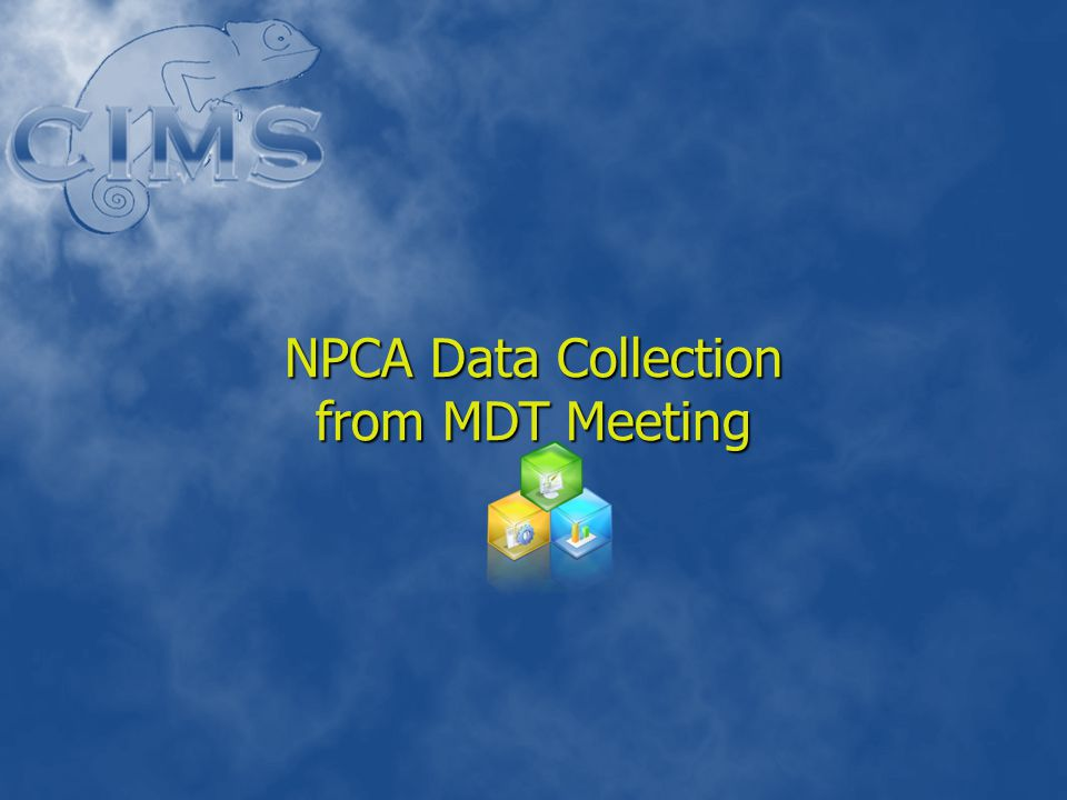 NPCA Data Collection from MDT Meeting