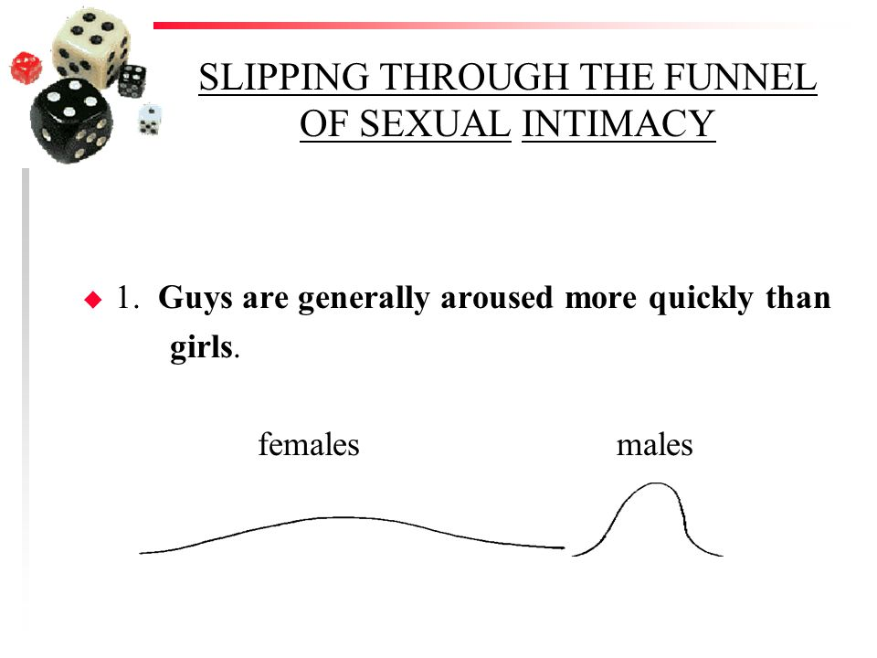 SLIPPING THROUGH THE FUNNEL OF SEXUAL INTIMACY u 1.