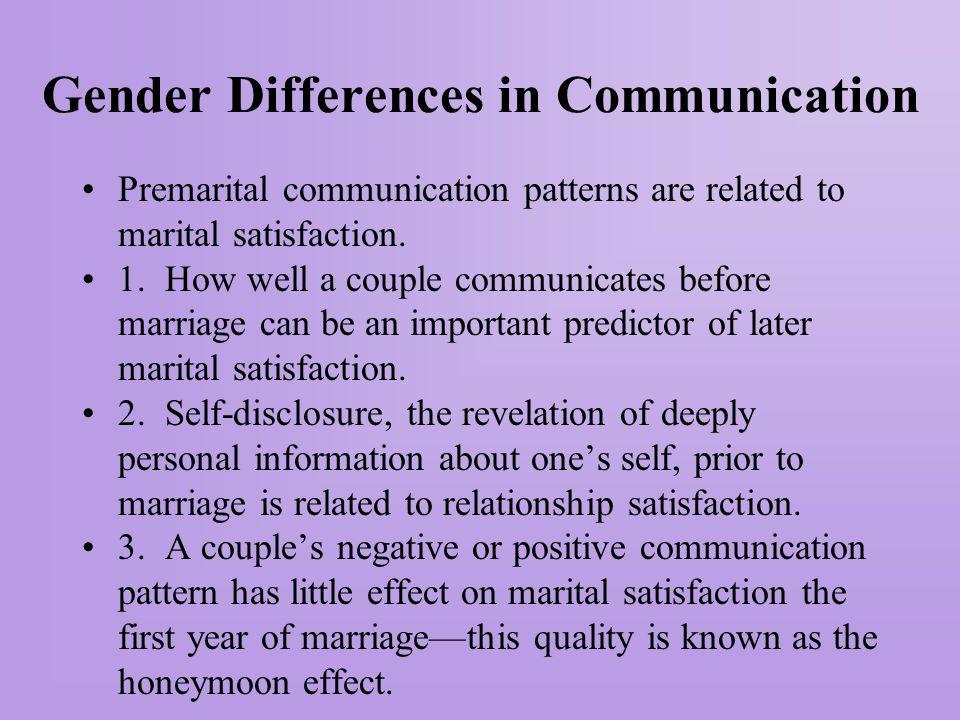 Gender differences in partner communication are influenced by gender differences in general communication patterns.