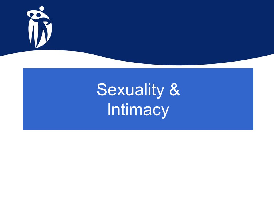 Sexuality & Intimacy